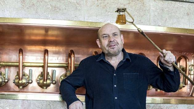 Ředitel pivovaru Holba Vladimír Zíka