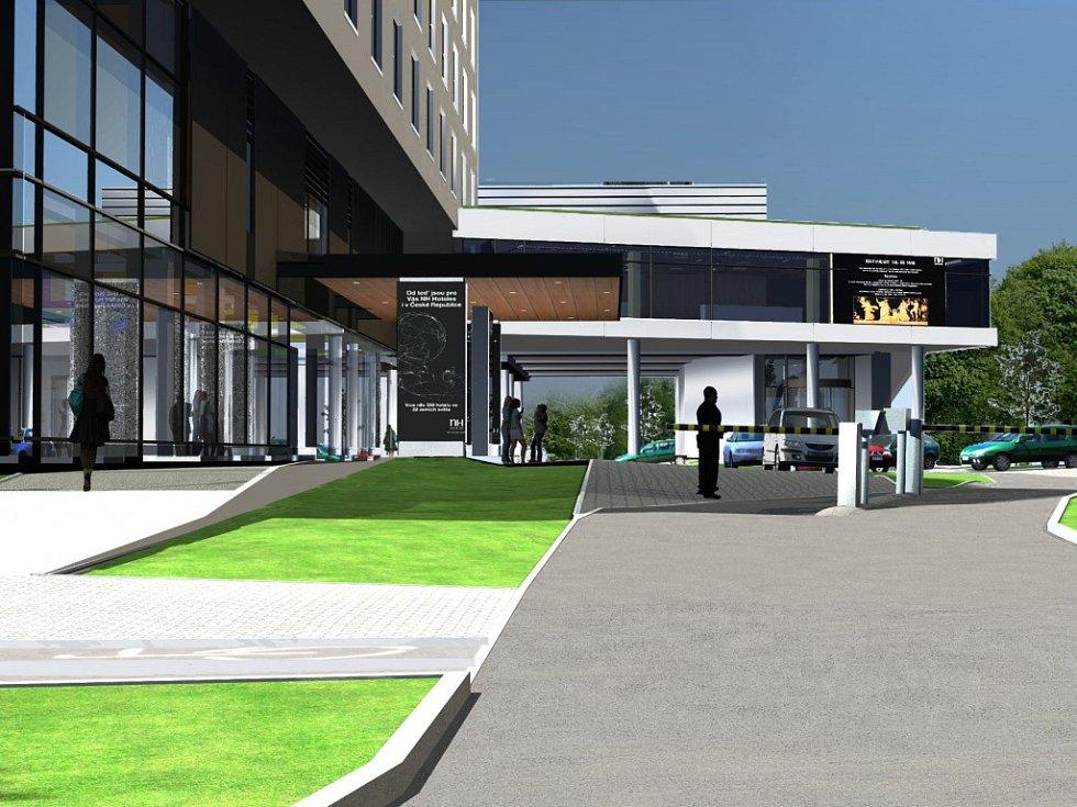 Takto bude vypadat olomoucký NH hotel po rozšíření kongresového centra