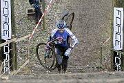V Uničově se konal poslední závod českého poháru v cyklokrosu. Jan Svoboda