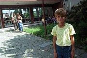 Olomouc, 10. července 1997. Evakuační centrum