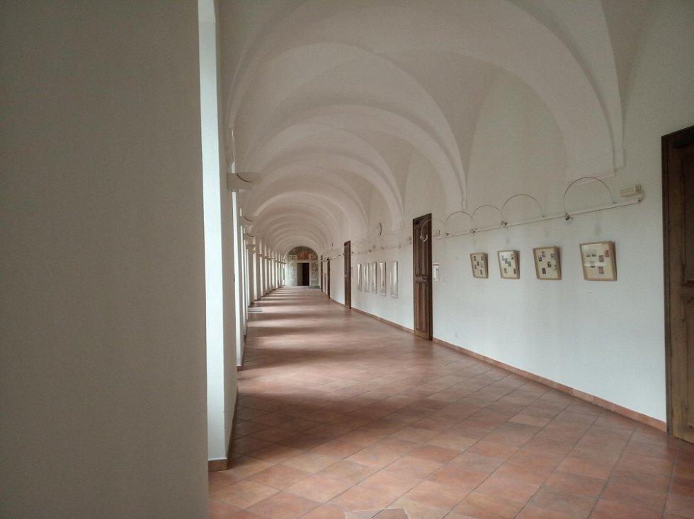 Filmová místa v Olomouci. Chodby olomouckého jezuitského konviktu