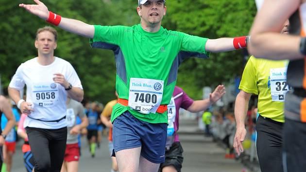 Koordinátor olomouckého půlmaratonu Jan Gregar