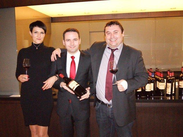 V olomouckém NH hotelu se snoubily pokrmy s víny