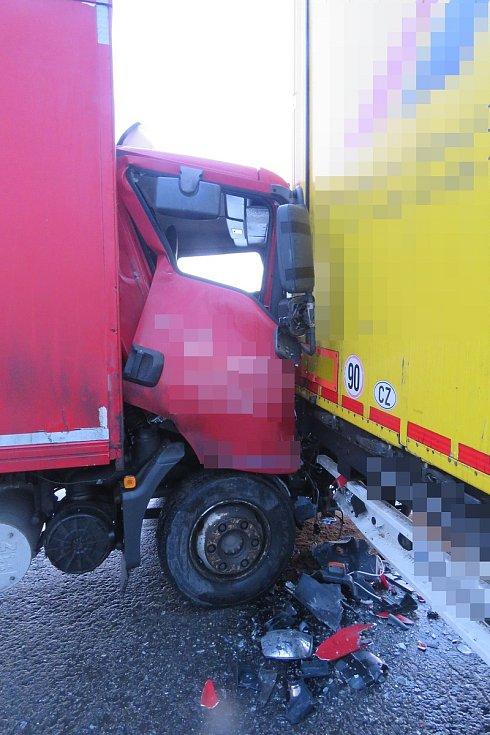 Nehoda v Hamerské ulici v Olomouci