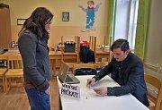 Druhé kolo prezidentských voleb na ZŠ sv. Voršily v Olomouci