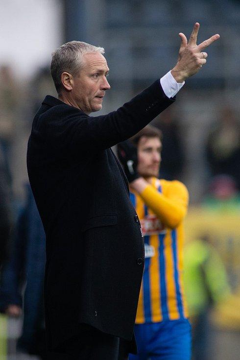 Trenér SK Sigma Olomouc Václav Jílek.