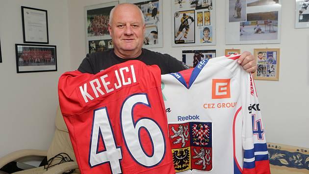 Zdeněk krejčí, otec hokejového reprezentanta Davida Krejčího