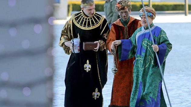 Tři králové v Olomouci. Ilustrační foto