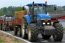 Protesty zemědělců. Ilustrační foto
