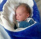 Tobiáš Filip, Litovel, narozen 15. května ve Šternberku, míra 51 cm, váha 3450 g