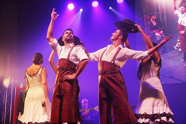 Madridský soubor Nuevo Ballet Espanol na galavečeru festivalu Colores Flamencos vOlomouci