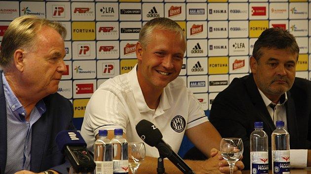 Jaromír Gajda, Václav Jílek a Ladislav Minář