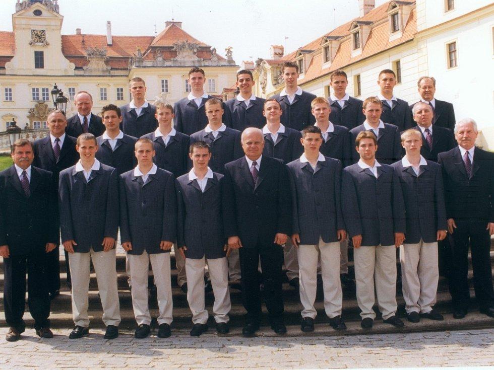 Mistrovství Evropy ve fotbale hráčů do 16 let 1999.  Český tým