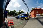 O víkendu na trati Ecce Homo proběhl závod mistrovství Evropy automobilů do vrchu. Foto: Deník/Jan Pořízek