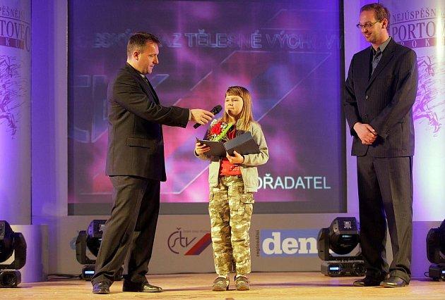 Vyhlášení Nejúspěšnějšího sportovce Jesenicka: Sportovní hvězda Deníku Eliška Bartůňková
