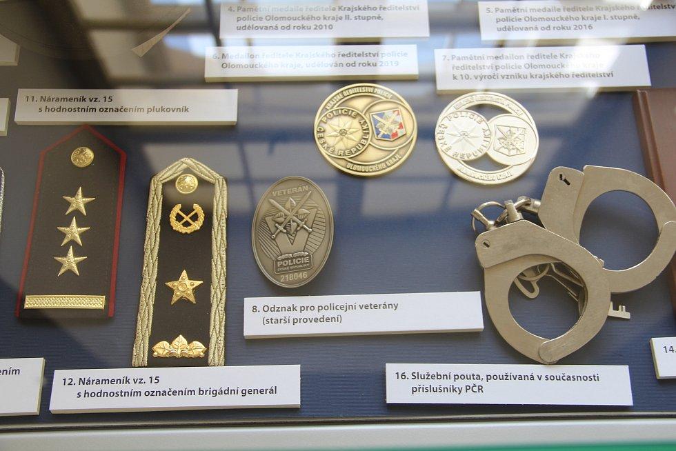 Ve Vlastivědném muzeu je k vidění také výstava Policejní sbory v proměnách času.