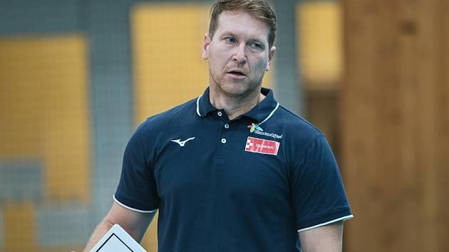 Trenér VK Olomouc Petr Zapletal