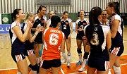 Olomoucké volejbalistky vybojovaly s Brnem extraligový bronz