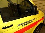 Sanitka Záchranné služby Olomouckého kraje