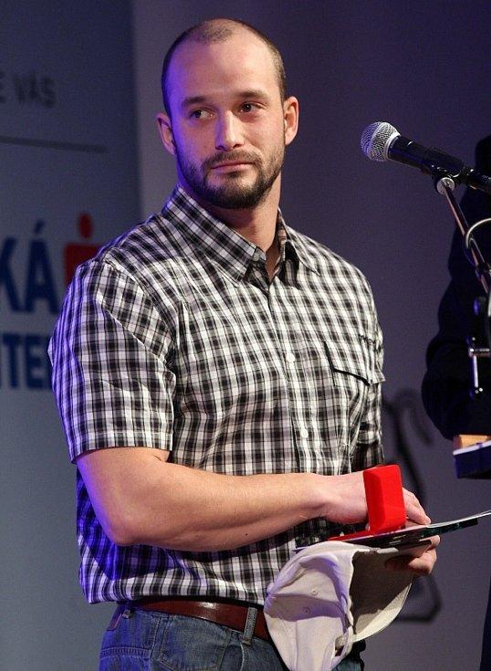 Vyhlášení ankety Nejlepší sportovec Olomoucka 2012: Karel Slepica