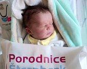 Daniela Koziol, Olomouc, narozena 10. června, míra 50 cm, váha 3560 g