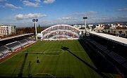 Andrův stadion - severní tribuna