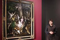 El Greco – Klanění pastýřů (asi 1605–10), zapůjčeno do Olomouce z Metropolitního muzea v New Yorku