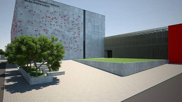 Vizualizace nového kampusu FTK UP v Olomouci - Neředíně