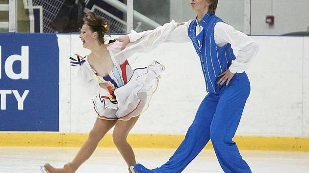 Lucie Myslivečková a Matěj Novák