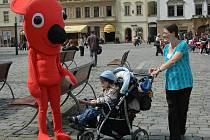 Kuky na Horním náměstí v Olomouci