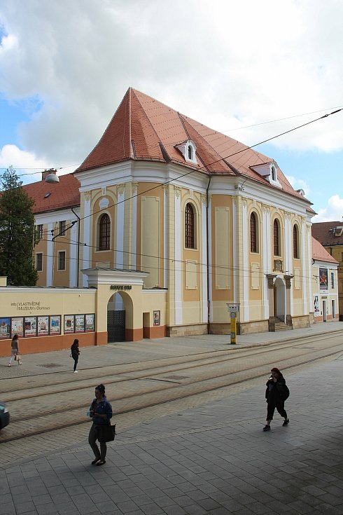 Vlastivědné muzeum v Olomouci v květnu 2021