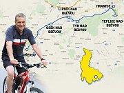 Na kole s hejtmanem Drahanskou vrchovinou