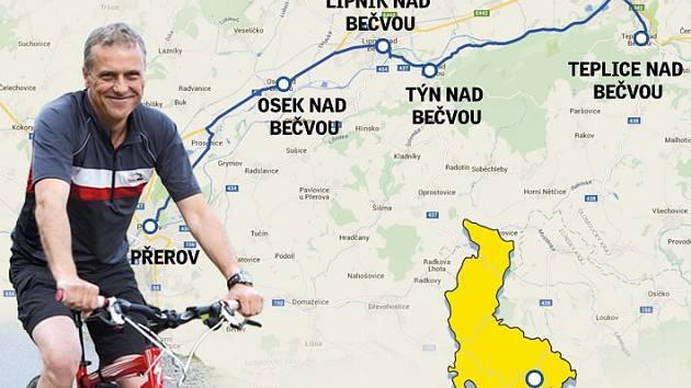 S hejtmanem na kole - trasa čtvrtá