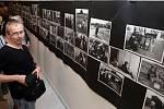 Fotograf Jindřich Štreit zahájil výstavu, kterou olomoucké Muzeum umění  připravilo při příležitosti jeho letošních sedmdesátin.
