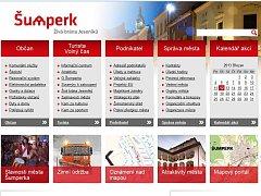 Web města Šumperk