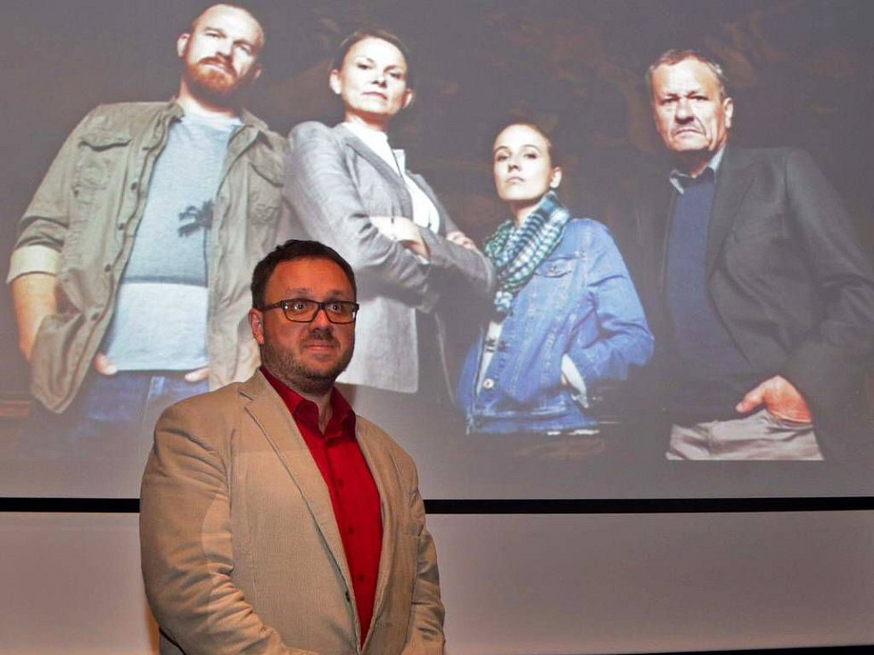 Michal Sýkora, autor knižních předloh televizního cyklu Detektivové od Nejsvětější Trojice