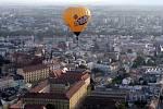 Balónová fiesta – balony nad Olomoucí.