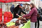 Farmářské trhy a řemeslný jarmark na Horním náměstí v Olomouci