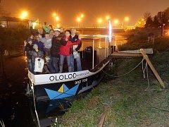 Olomoucká výletní loď Ololoď se loučila s první sezonou