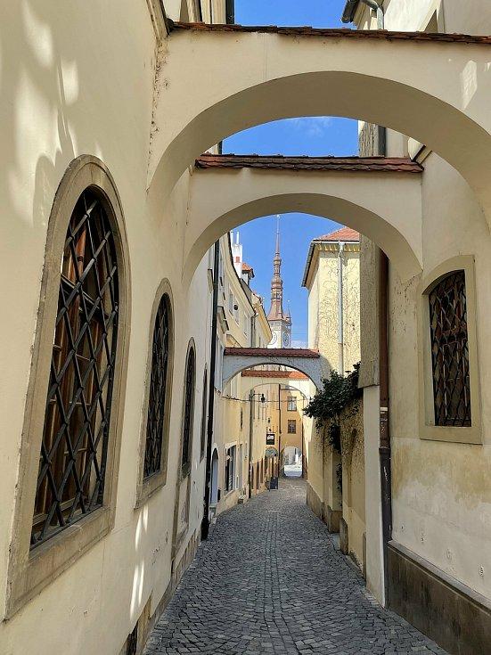 Školní ulice v Olomouci