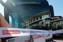 Autobusy DPMO. Ilustrační foto