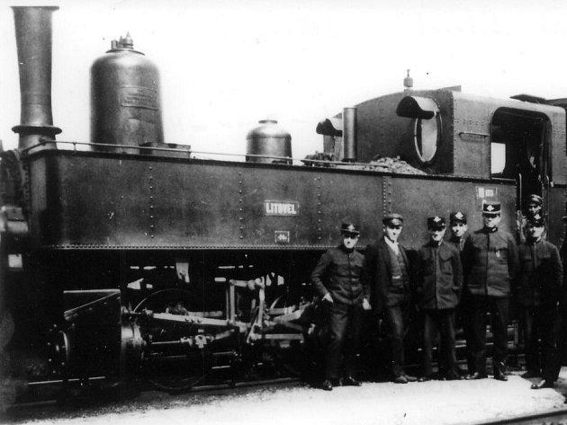 Lokomotiva Litovel vozila cestující od počátků provozu na místních litovelských tratích