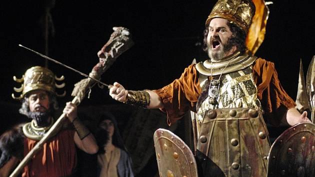 Opera Nabucco na scéně Moravského divadla