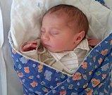Adam Svoboda, Horka nad Moravou, narozen 8. září ve Šternberku, míra 50 cm, váha 3760 g