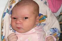 Adéla Doležalová, Štěpánov, narozena 2. března v Olomouci, míra 50 cm, váha 3020 g