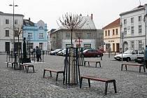Opravené Masarykovo náměstí v Uničově