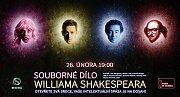 Pozvánka na představení Souborné dílo Williama Shakespeara v Olomouci