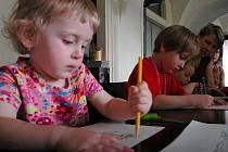 Den dětí Rodinného centra Heřmánek v Arcidiecézním muzeu