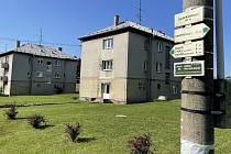 Slavkov, místní část Kozlova - nedávno součást vojenského prostoru Libavá