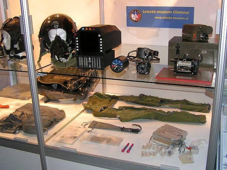 Expozice letecké výstroje